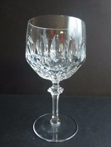 """Bleikristall Crystal Service Patrizia Water Goblet Glass 6""""T Made in Ger... - $11.88"""