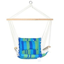 Sale -  Hammock Swing Chair Blue Green - $40.07