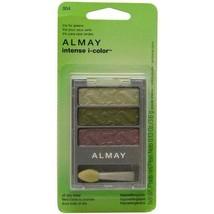 2PK Almay Intense I-color Powder Shadow Trio for Greens for Women - $20.92