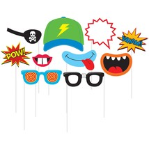 Juvi Boy Photo Booth Props, Case of 60 - $45.95