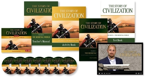 The story of civilization vol. 2   the medieval world  complete set
