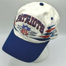 Vintage New England Patriots Logo Athletic Diamond Sharktooth Snapback H... - $89.99