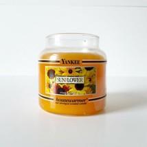 Yankee Candle Sunflower Housewarmer Black Band Jar 14.5 oz New  - $48.51