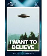 Atlantis I Want to Believe 5 inch Lighted UFO Model Kits - $19.65