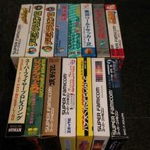 SFC Lot of 15 Kamaitachi No Yoru Puyopuyo Front Mission Super Famicom SNES - $165.48