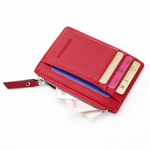 Wallet Mini PU Leather Card Holders Card Slots Purse Small Men Wallet Wo... - $16.19
