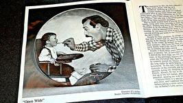 "1984 ""Open Wide"" Betsy Bradley Plate with Box ( Knowles ) AA20- CP2174 Vintage image 6"