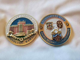 "ARMY TRIPLER MEDICAL CENTER HAWAII 42"" CHALLENGE COIN  - $17.09"