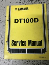 1976 1977 1978 Yamaha DT100D Shop Service Repair Manual FACTORY OEM - $24.70