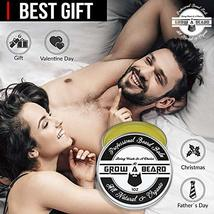 Beard Balm | Leave-in Conditioner & Softener for Men Care | Best Facial Hair & M image 5