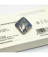 CRYSTAL VITRAIL LIGHT Swarovski 6926 Growing Rhombus 36mm Jewelry Making... - $30.66