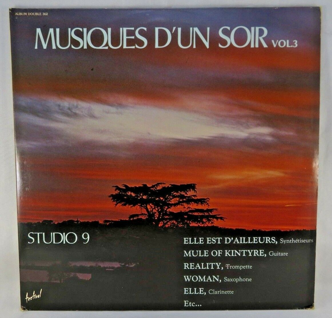 "Primary image for Studio 9 Musiques D'un Soir Vol.3 (2 x Vinyls, 12"", LP, French Album) Musidisc"