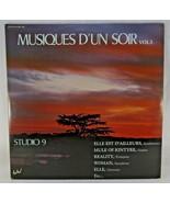 """Studio 9 Musiques D'un Soir Vol.3 (2 x Vinyls, 12"""", LP, French Album) Mu... - $18.75"""