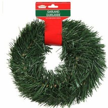 Christmas House 15 FT Wired Holiday Green Pine Garland Decor Indoor/Outdoor - $100.00