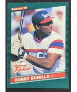 1986 Donruss The Rookies BOBBY BONILLA (Chicago White Sox) Rookie - $1.49
