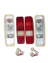 A-Team Performance Tail Light and Brake Lens Set Compatible With 69-75 D-Series  image 1