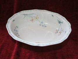 Noritake American Flowers oval serving bowl - $23.71