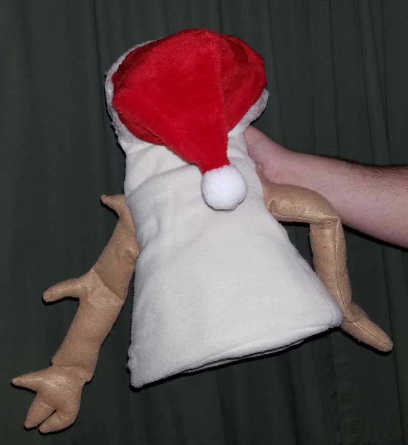 """MADE TO ORDER: Professional """"Snowman"""" Muppet Style Ventriloquist Puppet"""