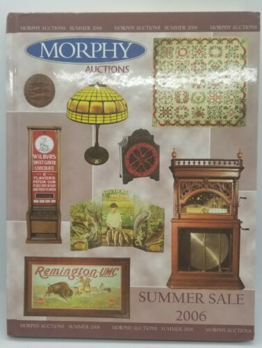 Primary image for Summer 2006 Morphy Auction Catalog Results Written for Match Safes /Vesta Cases