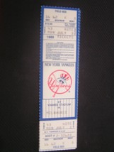 MLB 1989 New York Yankees Full Unused Collectible Ticket Stub 7/03/89 Milwaukee - $3.46