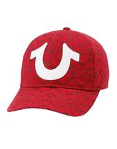 True Religion Men's Chevron Horseshoe Logo Baseball Sports Strapback Cap Hat image 2