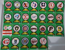 1988 Fleer Stadium Sticker Cards Set of 26 Baseball Cards - $7.50