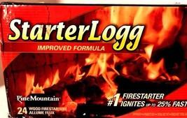 Firestarter Starter Log Firestarting Blocks 4 Count (Pack of 6) Pine Mou... - $27.85
