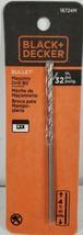 Black + Decker 5/32 Bullet Masonry Drill Bit 4 in Long  # 16724M New Sealed - $13.53