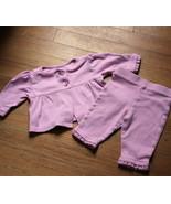 Garanimals Pink Baby Jacket and Pants  Size 0-3  - $7.91