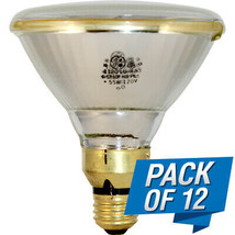 71446 GE PAR38 (Pack of 12) Plus 5Watt Halogen 120Volt E26sk Base - $150.00