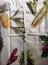 April Cornell Tablecloth Vegetables French Country Farmhouse NEW - $42.00