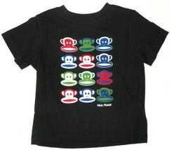 18M Infant Paul Frank Tee Shirt Julius Monkey Multi Faces Baby T-Shirt NEW