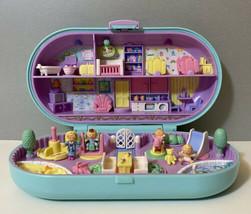 Bluebird Vintage Polly Pocket 1992 Babysitting Stamper Compact & Dolls *Complete - $149.99