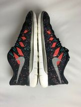 NIKE FREE 5.0 Running Gym Fitness Shoes Black Hyper Jade Galaxy Womens Size 8.5 image 3