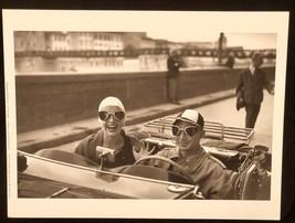 RUTH ORKIN Photograph Couple in MG 1951 9x12 Lithograph Portfolio Print - $23.19