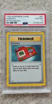 Pokemon Pokedex 87/102 Shadowless Base Set PSA 10 1999 Pokemon TCG Card ... - $49.99