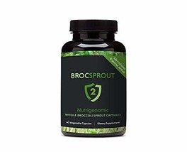 BROC SPROUT 2 - Whole Broccoli Sprout Capsules - $66.55