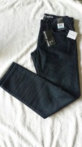 dkny jeans williamsburg slim fit low rise narrow leg size 31x30 nwt - $29.99