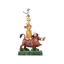 "8"" ""Balance of Nature "" Lion King Stacked Characters Pumba, Simba, Timon... - $79.19"