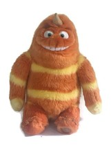 "Disney Store Monsters Inc George Sanderson Orange Plush 15"" with Boo's Sock - $29.69"