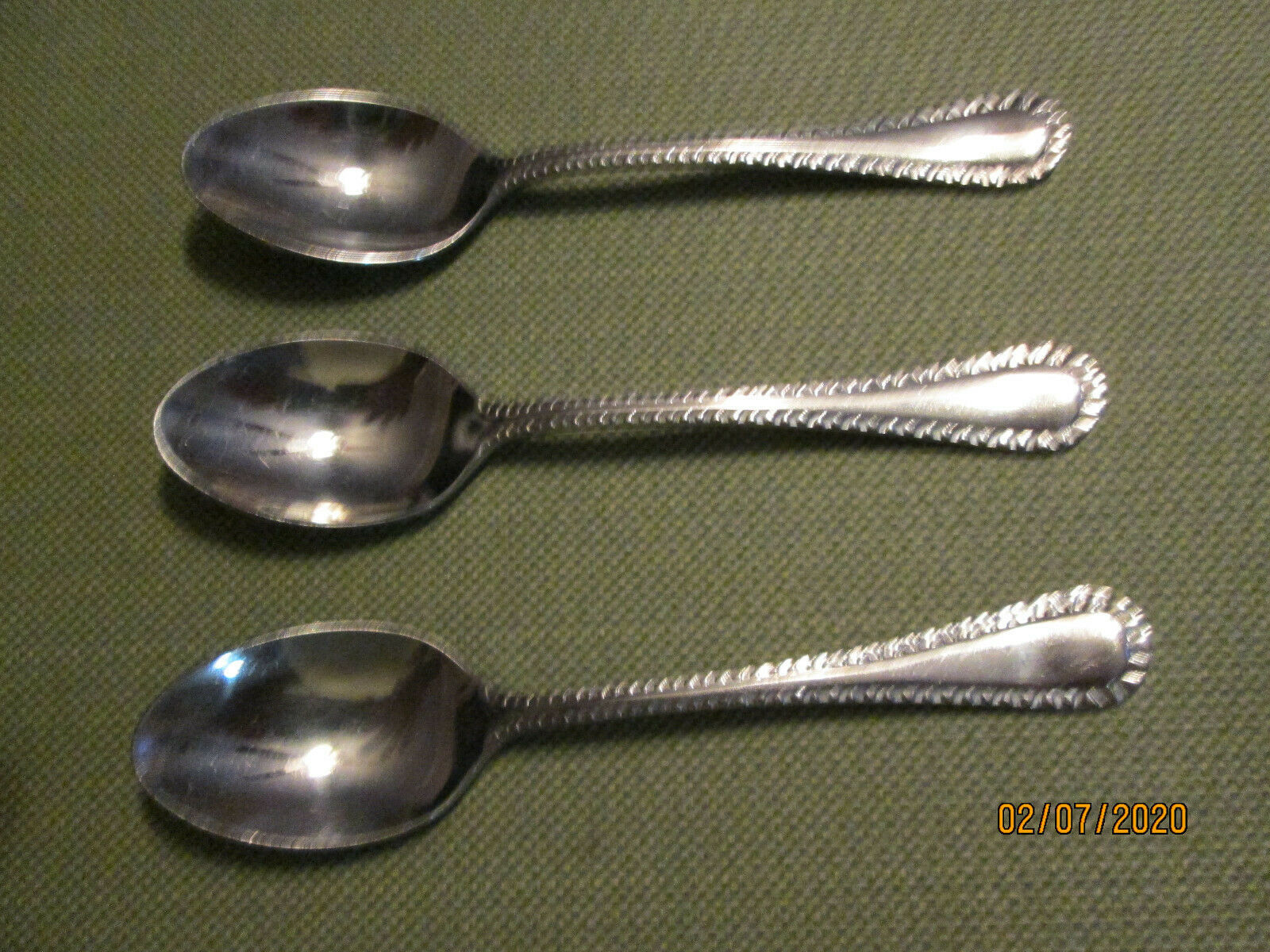 Primary image for Cuisinart Hailey  set of 3 teaspoons