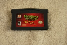 FROGGER'S ADVENTURES: TEMPLE OF THE FROG NINTENDO GAMEBOY ADVANCE GAME BOY - $19.99