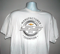 Chevy SS Racing 2013 Manufacturer Champion T shirt Mens XL Chevrolet - $21.73