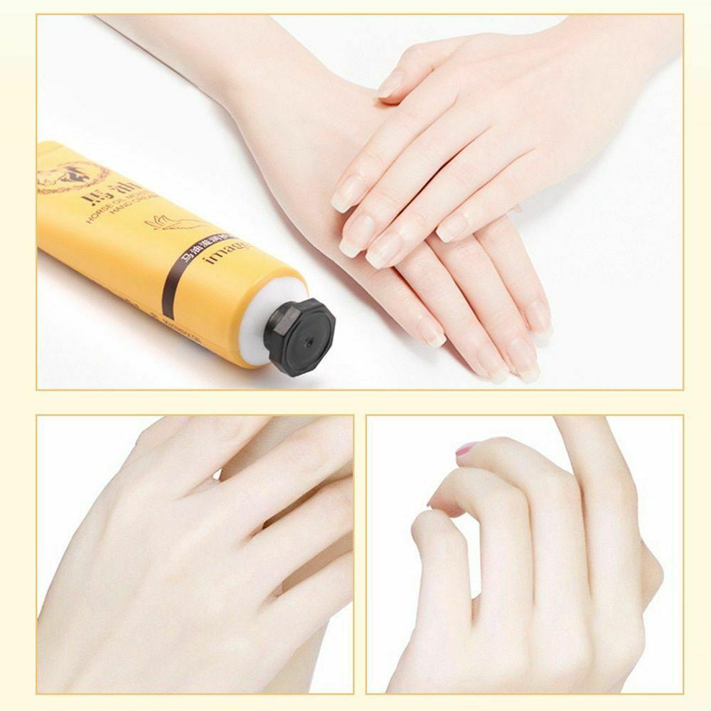 Horse Oil Repair Hand Cream Moisturizing Anti-Aging Skin Whitening Hand Cream