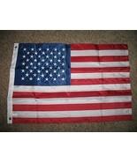 ALBATROS 2 ft x 3 ft Embroidered Sewn USA 50 Stars 300D Nylon 2Ply Flag ... - $32.49