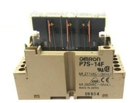 Omron P7S-14F Relay Socket 6A 250 VAC - $34.78