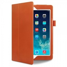 "Apple  iPad Air 9.7""  Pro-Tech Leather Book Case Folio Folding  Stand Or... - $21.68"