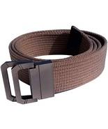 "DIY Length 3MM Thick Canvas Belts For Men Unisex S-L 45"" for waist 28"" t... - $10.15"