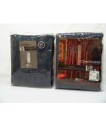 Chris Madden Kasbah Chenille Indigo 2-PC Rod Pocket Drapery Panel Set(s) - $90.00