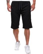 MODCHOK Men's Jogger Shorts Sports Sweatpants Gym Pants Flat Fitness Bottoms Tro - $33.05